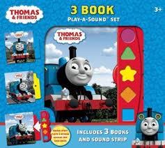 3-Book Play a Sound Set Thomas & Friends