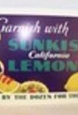 Sunkist Lemons