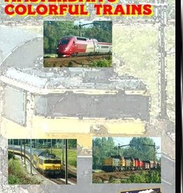 Amsterdam's Colorful Trains  @COST