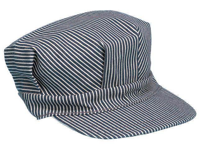 Engineer's Hat Blue Adult Large Adjustable