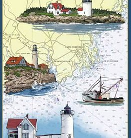 Kennebunkport Lined Journal - Nautical