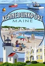 Kennebunkport Corkscrew - Montage