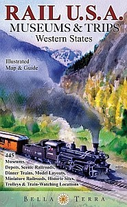 Rail USA Museum Map West