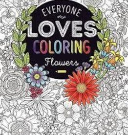 Bendon Adult Coloring Book Flowers