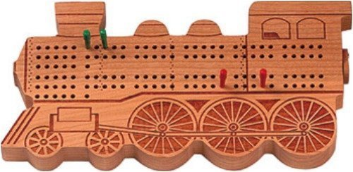 Cribbage Train Engine Cherry
