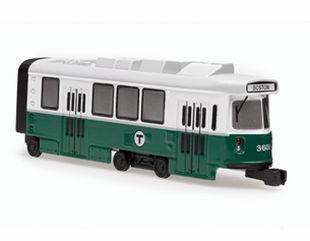Boston MBTA Green Line Trolley Car