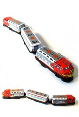 Wind-Up Express Tin Toy Train