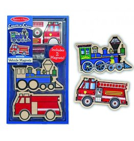 Vehicle Magnets Create-a-craft