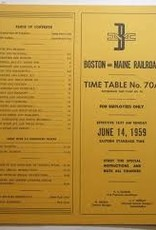 B&M Employee Time Table