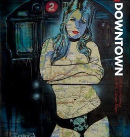 Uptown & Downtown:  Old Skool Paintings on NYC Subway Maps