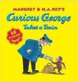 CURIOUS GEORGE TAKES A TRAIN STICKER