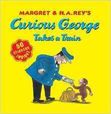 CURIOUS GEORGE TAKES A TRAIN - STICKER BOOK