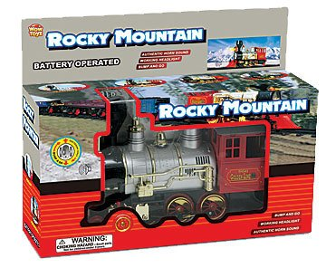 Rocky Mountain Jr. Bump & Go Locomotive