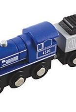 Li'l Chugs Blue Steam Locomotive & Coal Tender