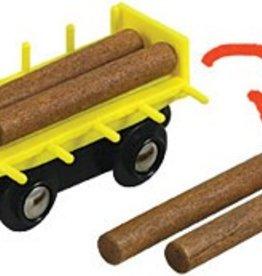 Li'l Chugs Log Freight Car