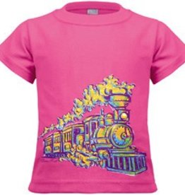 Painted Train Toddler Shirt