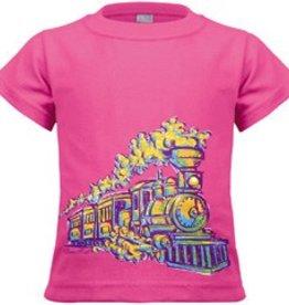 Painted Train Toddler Shirt