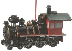 Western Steam Engine Ornament