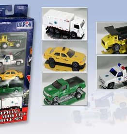NYC Official 5 Piece Vehicle Set