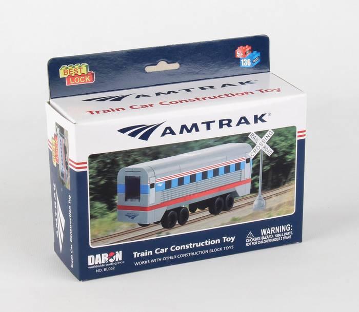 Amtrak 136 Piece Construction Toy (Best-Lock)
