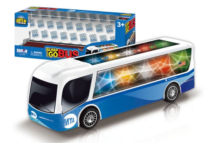MTA Bump & Go Light & Sound Bus