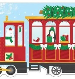 Christmas Train Shaped Cover Sticky Note