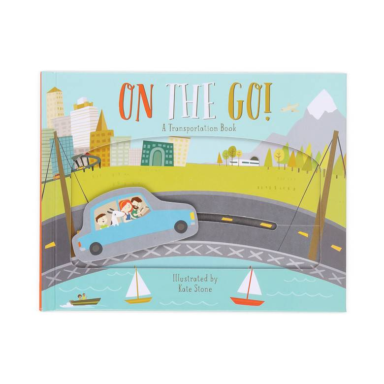 On The Go! Moving Tracks Book