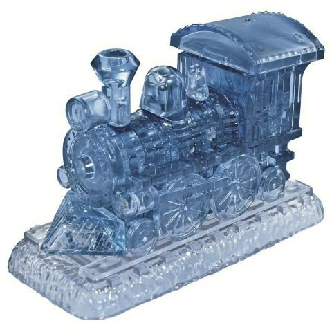 Original 3D- Locomotive Crystal Puzzle