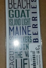 Kennebunkport 2 x 8.5 Bookmark