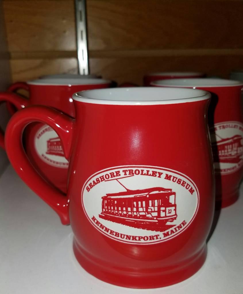 Solid Red STM Tankard Mug