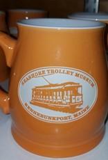 Tankard Mug Salmon Orange