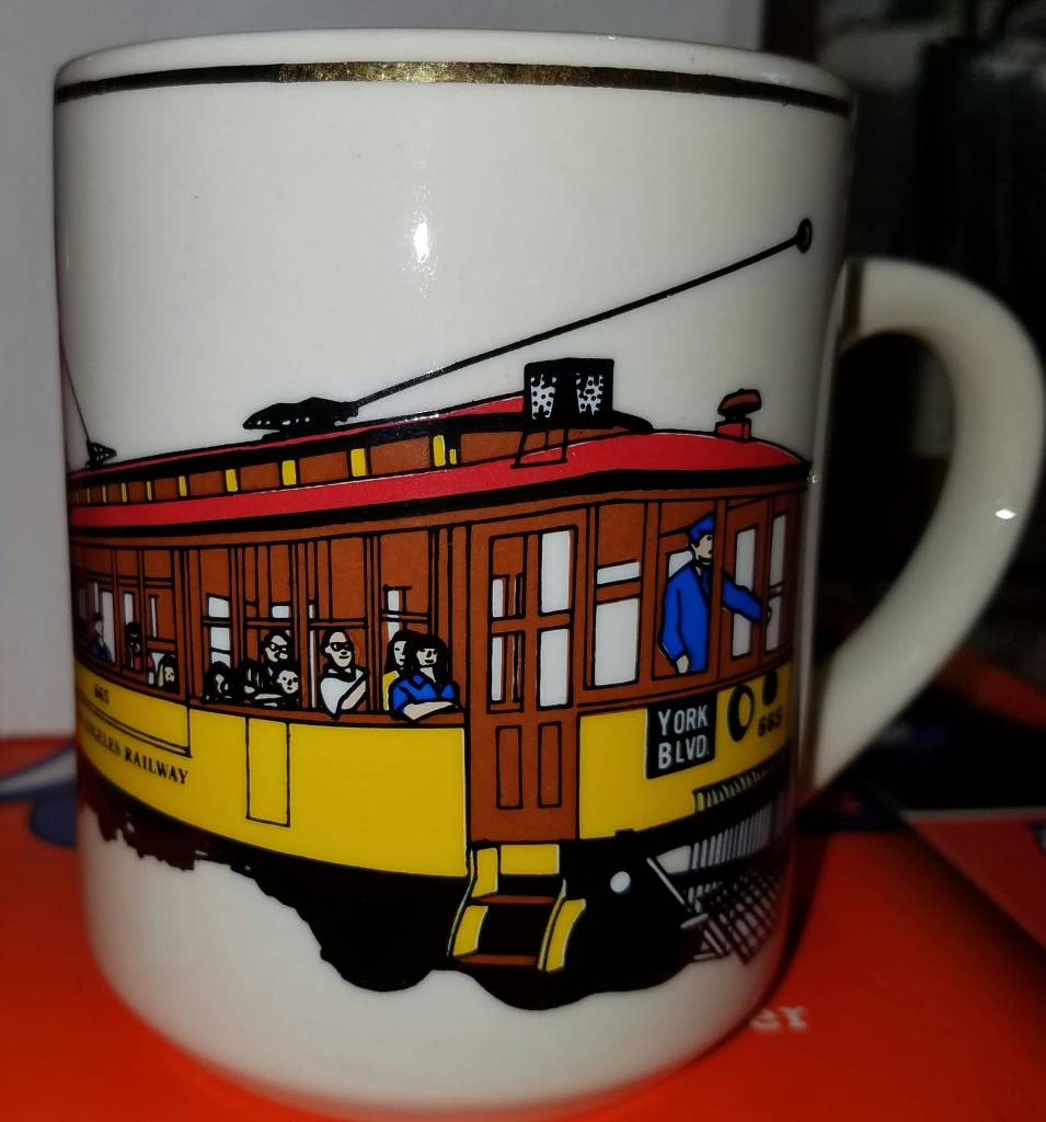 Los Angeles Streetcar Mug