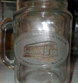 STM Custom Engraved Mason Jar