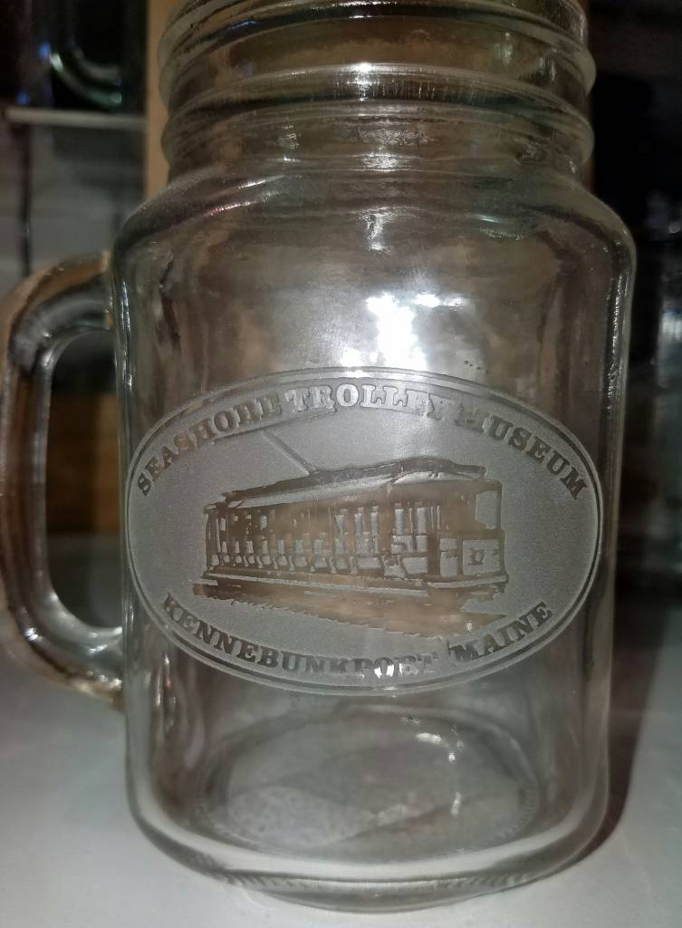stm custom engraved mason jar seashoretrolleymuseum