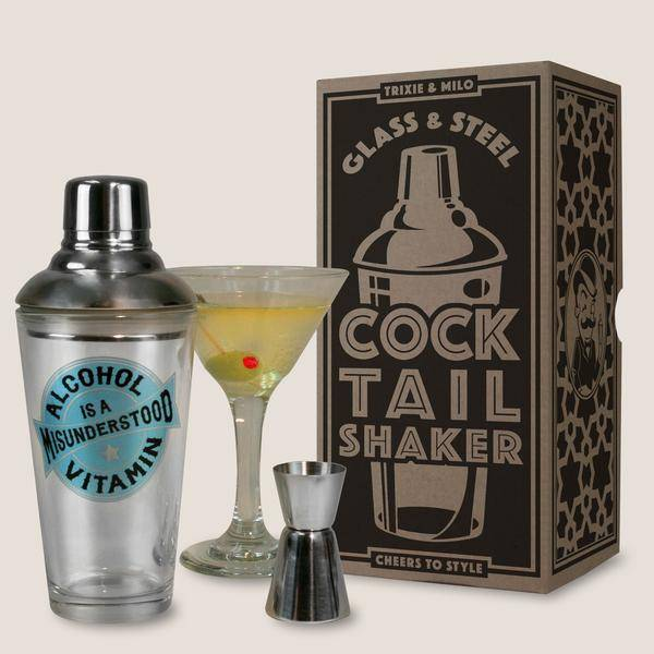 Cocktail Shaker - Pick Your Poison