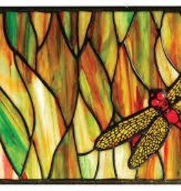 Tiffany Hand Mirror Dragonfly Lamp