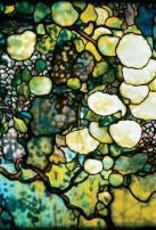 Tiffany Hand Mirror Snowball Window