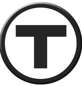 "MBTA ""T"" Logo Magnet"