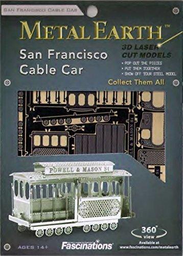 Metal Earth San Francisco Cable Car
