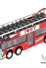 NYC Sightseeing Bus Double Decker - Red