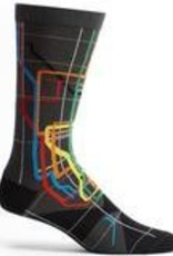 MTA Subway Vignelli Diagram Mens Sock