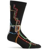 Chicago CTA L Map Sock