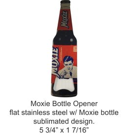 Moxie Bottle Opener - Stainless Steel