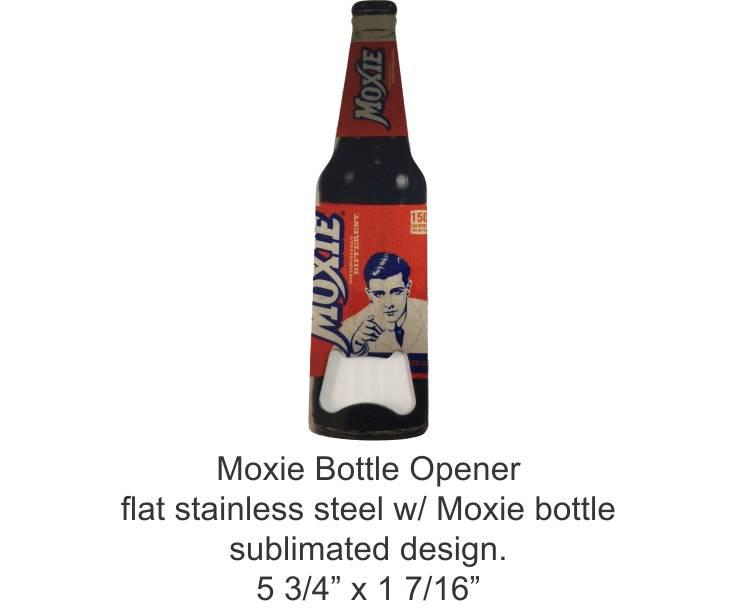 Moxie Bottle Opener - Stainless Steel