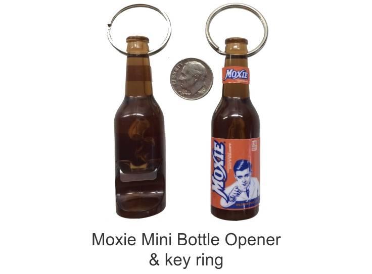 Moxie Bottle Opener - Key Ring