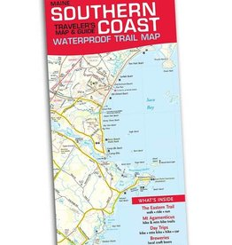 Southern Coast Waterproof Traveler's Map & Guide
