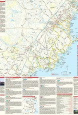 Southern Coast Waterproof Traveler's Map & Guide