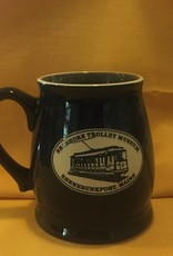 Solid Black STM Tankard Mug