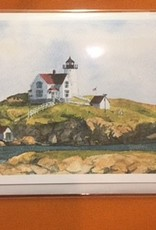 Cape Neddick Nubble Lighthouse Note Card