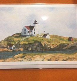 Cape Neddick Nubble Lighthouse Note Card